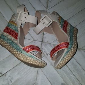 Mix no.6 multi Color Wedges Size 10